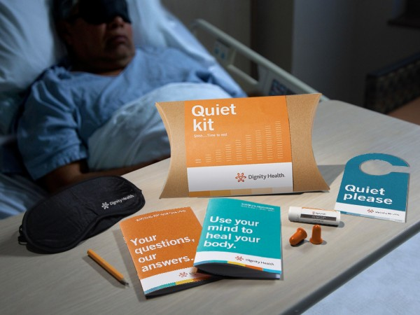 Dignity Patient Quiet Kit Items