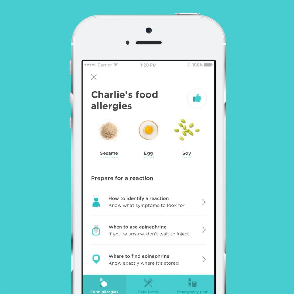 Belay Food Allergies App
