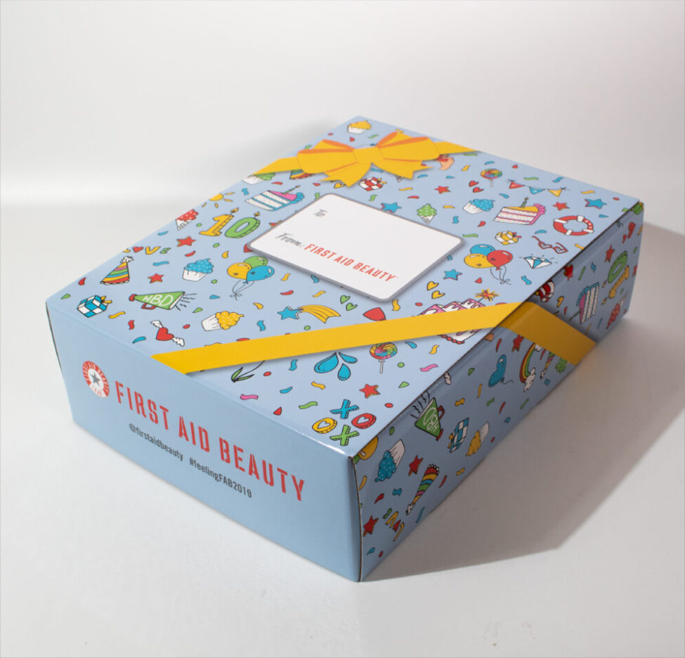 FAB PR 10 years Birthday Kit
