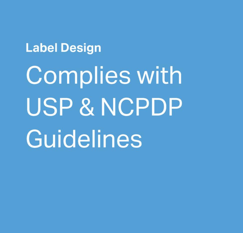 AdlerRx Label Design