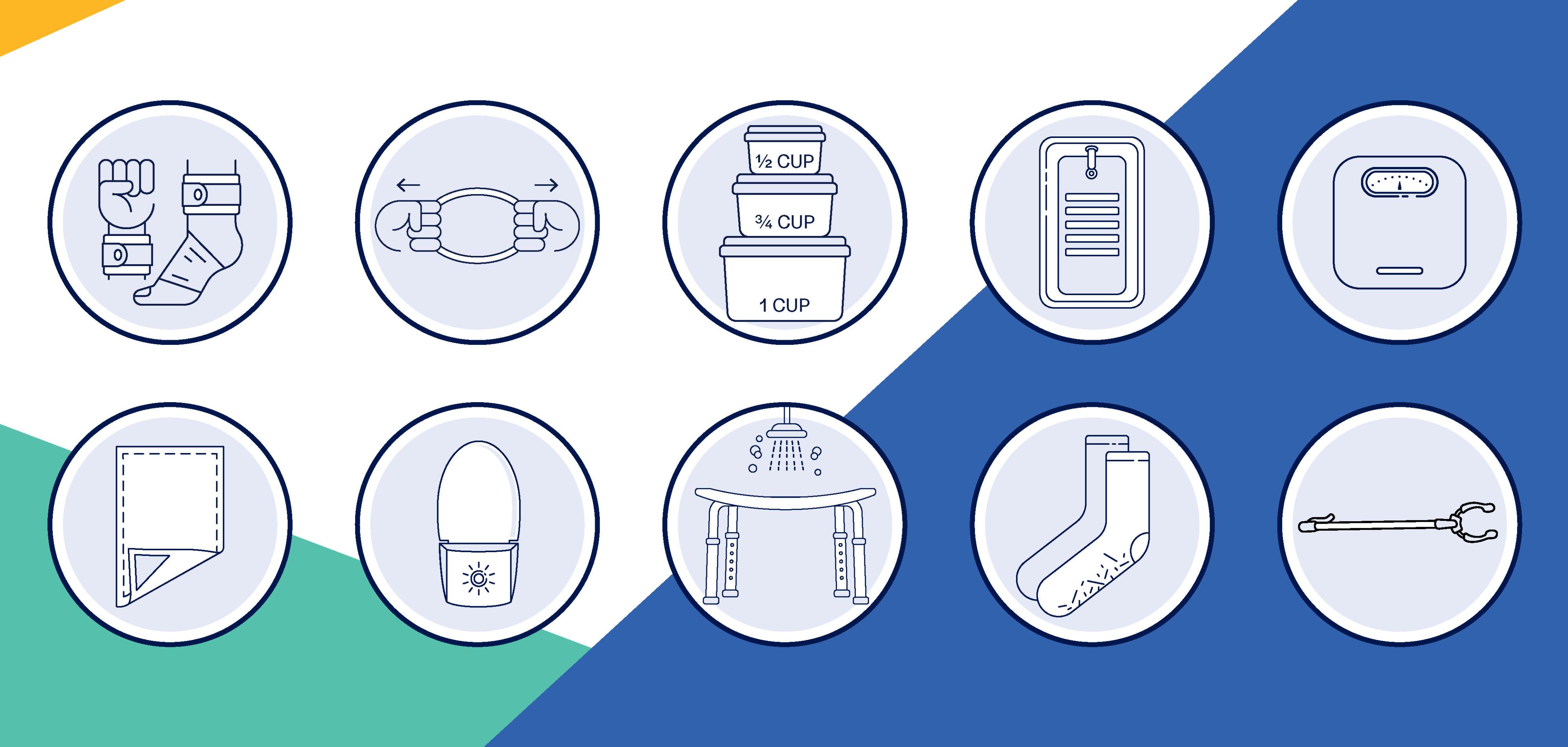 Medline Ready Sets Kit Icons