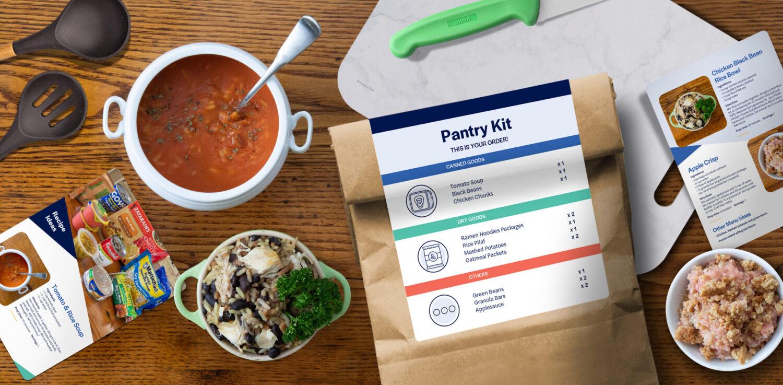 Medline Pantry Kit Table