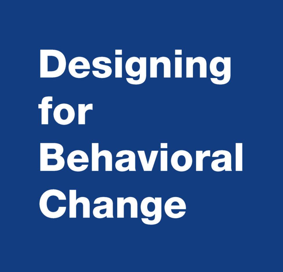 Medline SSI Designing for Behavioral Change