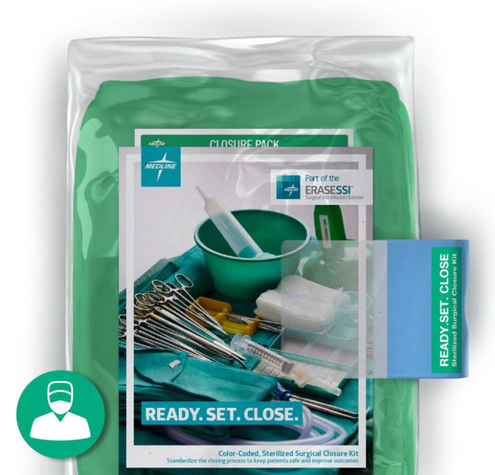Medline close kit
