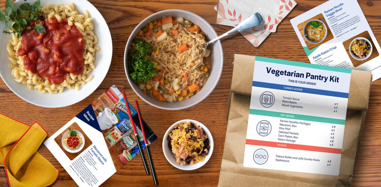 Medline Veggie Kit Table