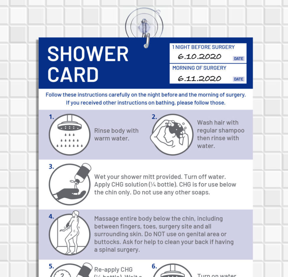 Providence SSI Shower Card