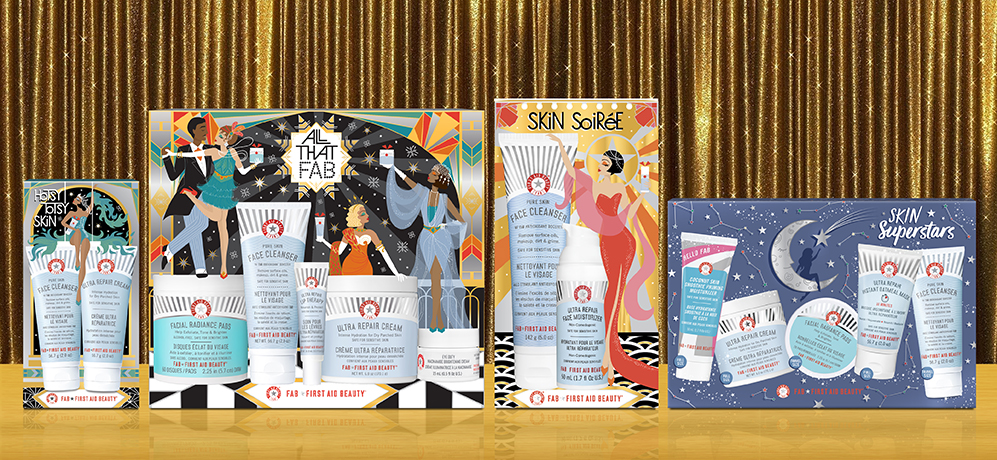 First Aid Beauty Packaging