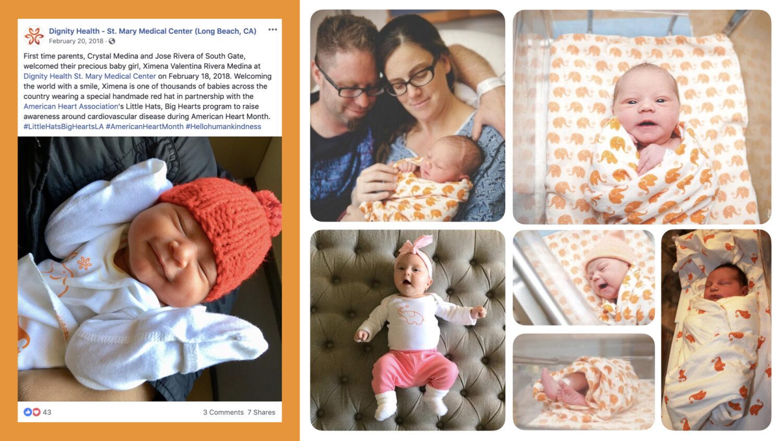 Dignity Health Baby - social